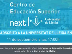 ¡Ven a conocer el CES Next!