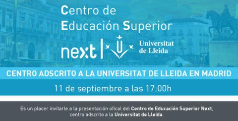 Presentación del CES Next