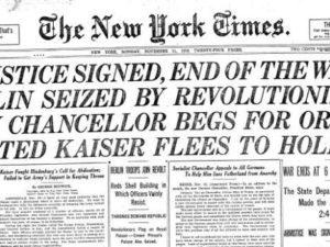 La comunicación, clave en el principio del fin de la Primera Guerra Mundial