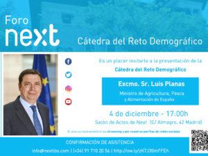 Foro Next presenta la Cátedra del Reto Demográfico del CES Next