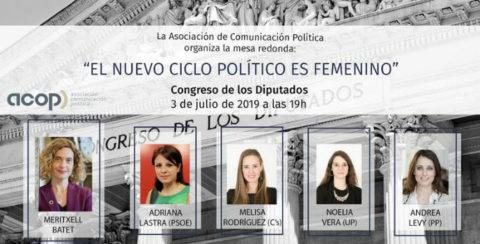 ACOP organiza una mesa redonda sobre el papel de la mujer en la política actual