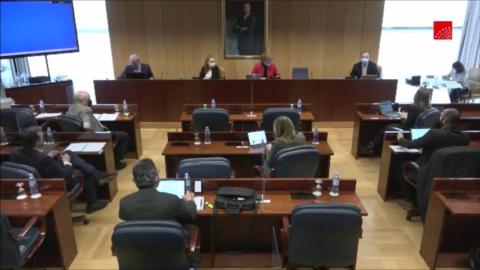 Campo Vidal (Cátedra de Despoblación de Next Educación) comparece en la Asamblea de Madrid